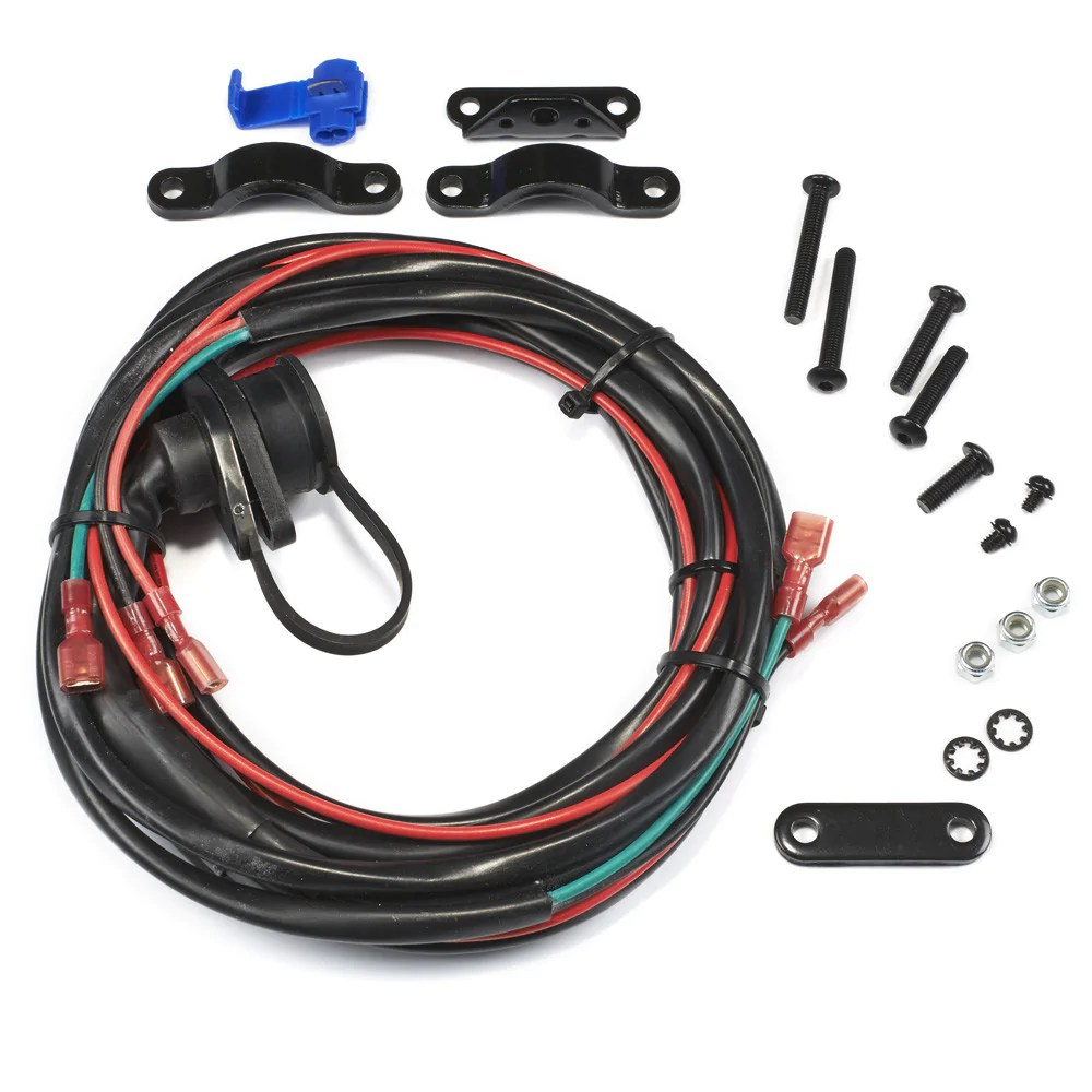 warn 89586 remote control socket wire harness free shipping winch wire harness [ 1000 x 1000 Pixel ]