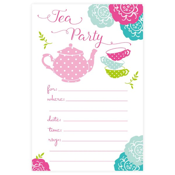 summertime party invitations