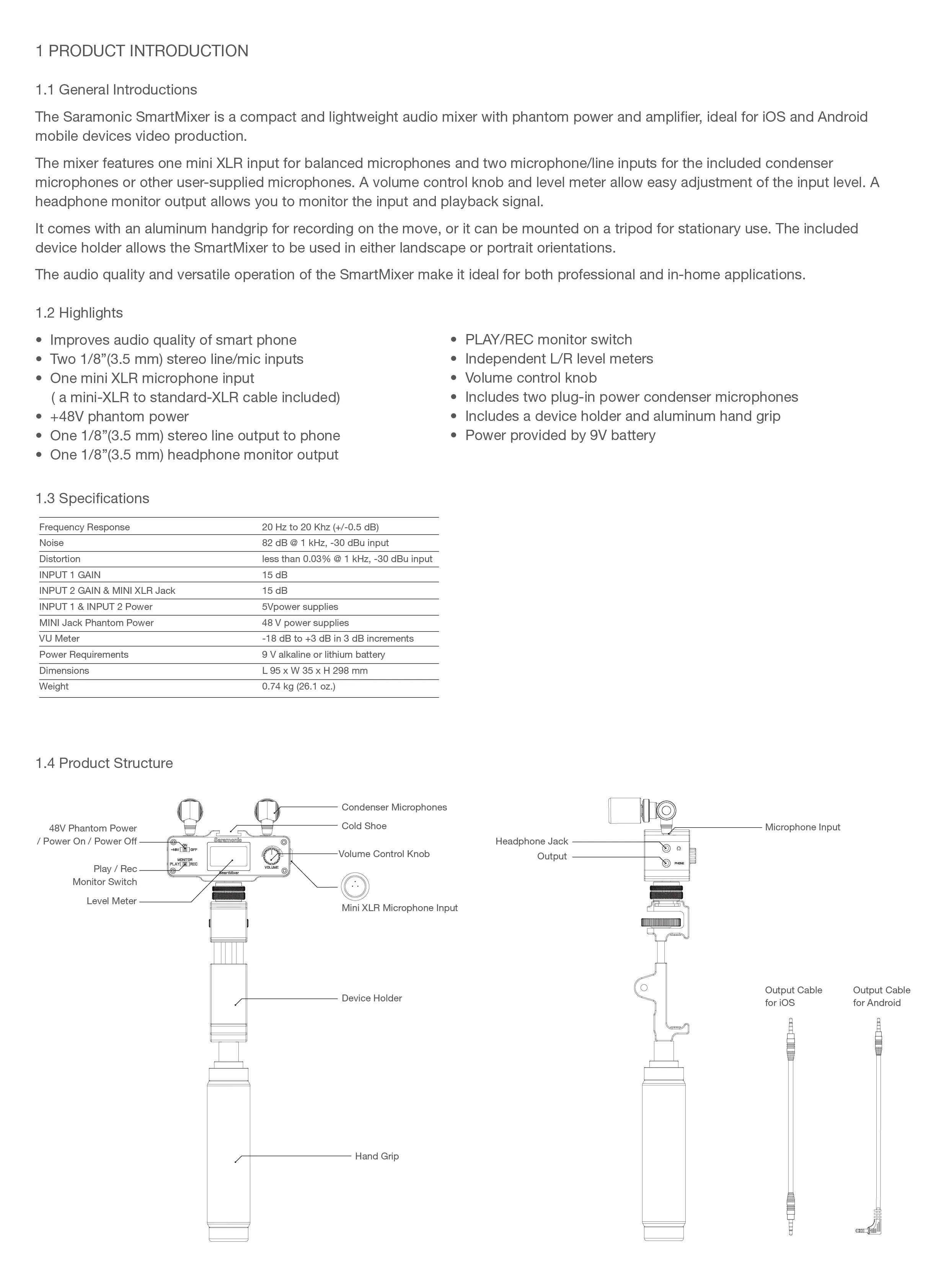 small resolution of smartmixer manual page 1