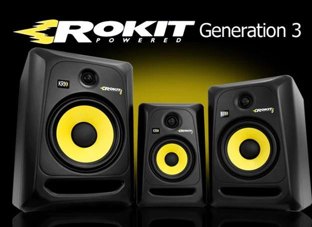 monitor de referencia krk rokit g3