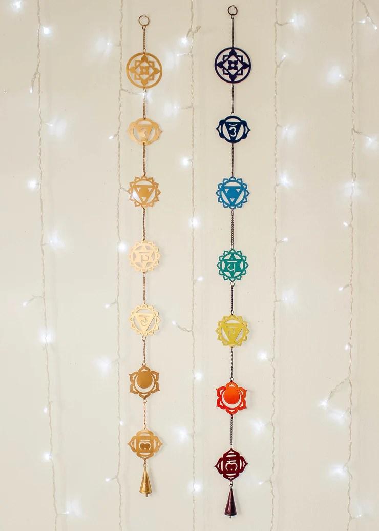 chakra magic wall hanging