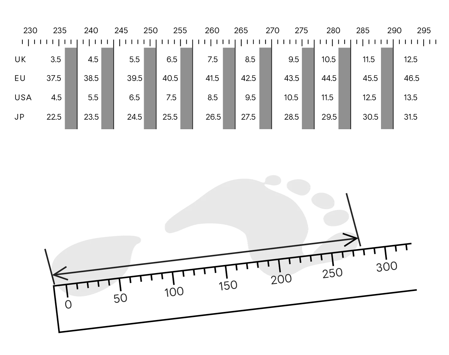 small resolution of quoc shoes size chart