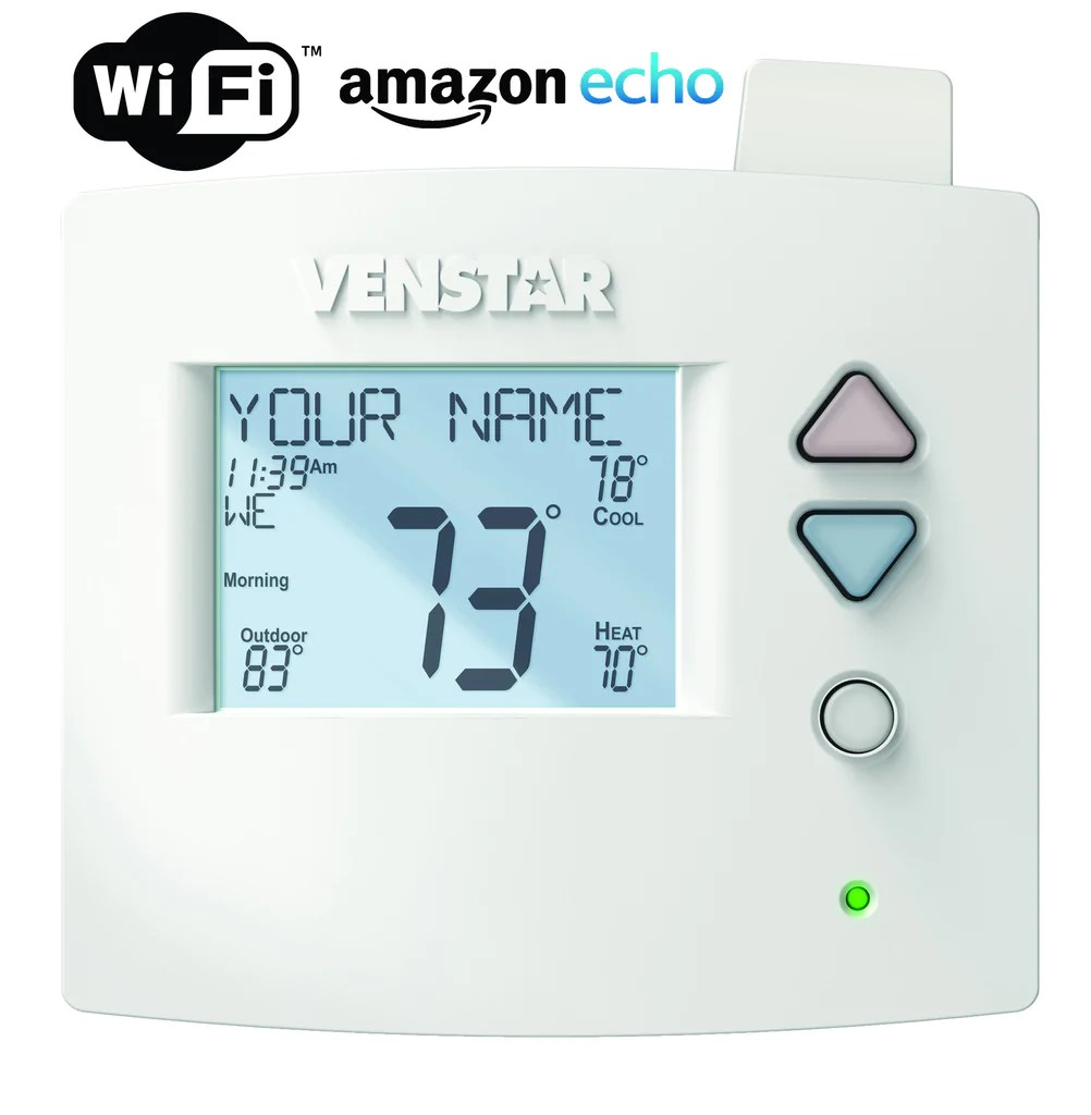 hight resolution of  venstar voyager t3700 thermostat wi fi module