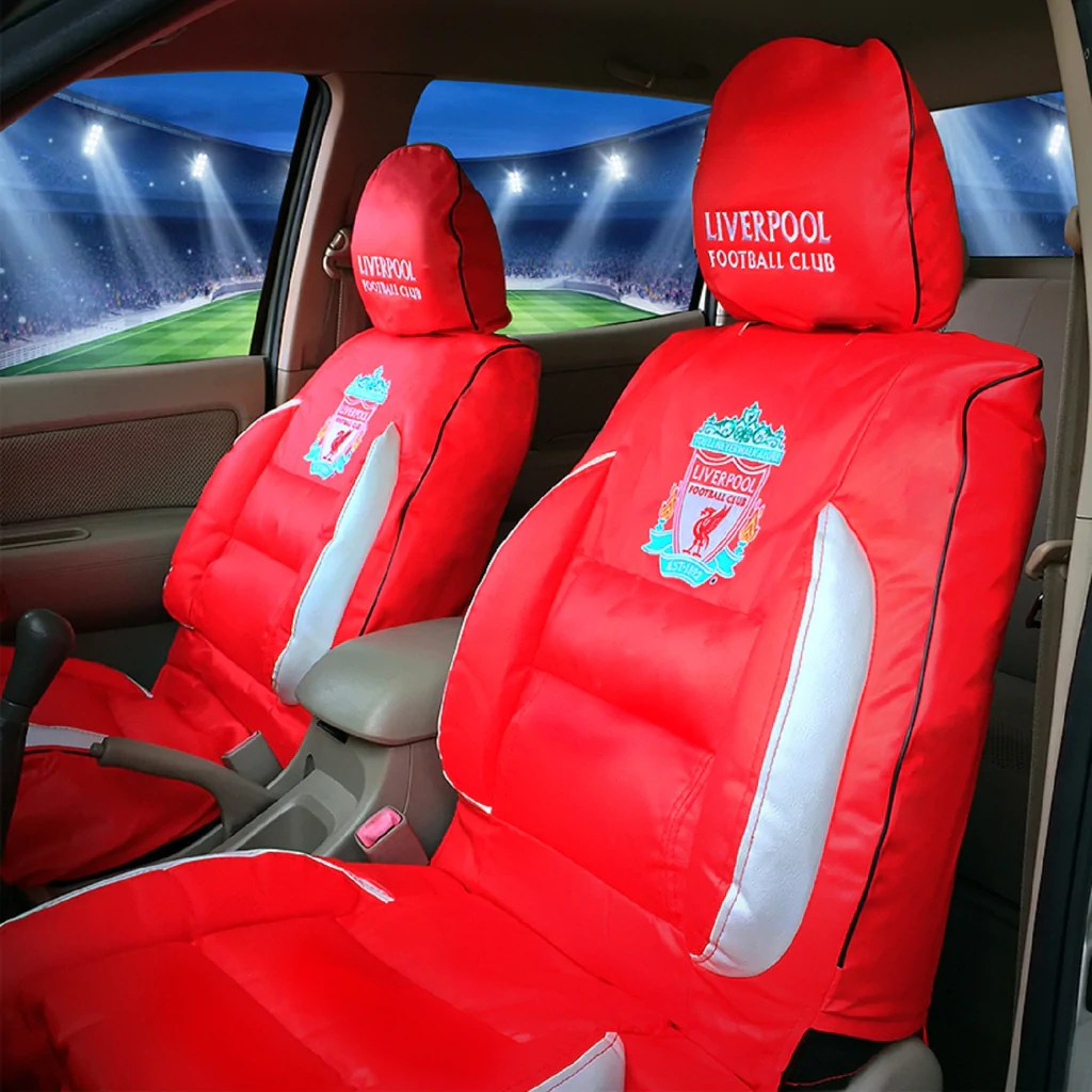 Liverpool Le Car Seat Covers Black Pair Premier - Year of