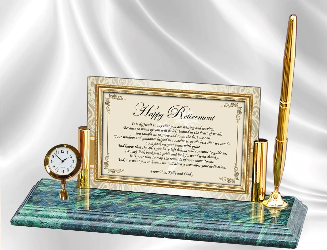 Retirement Gift Ideas Employee Service Recognition Award Clock