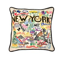 New York City Pillow  The New York Public Library Shop