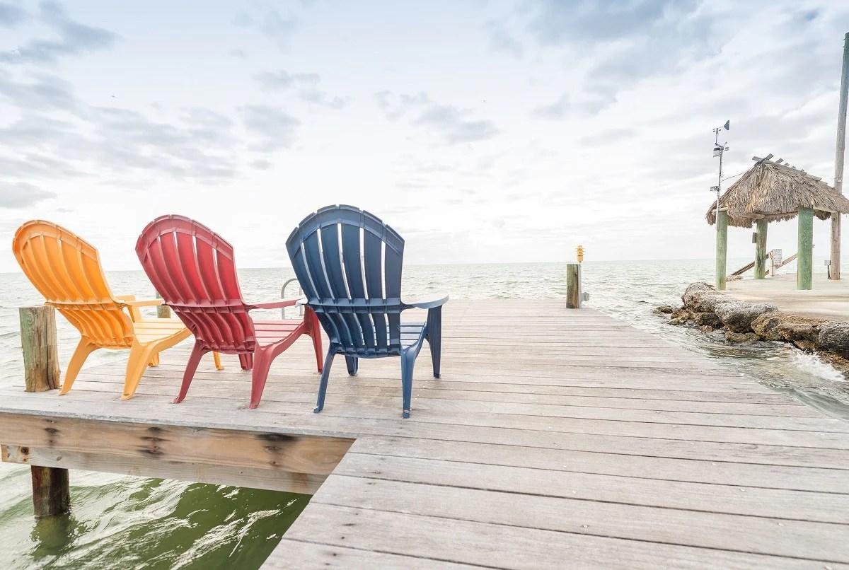 key west chairs beach with canopy 26 beautiful florida keys photos islandjay adirondack on a dock in islamorada