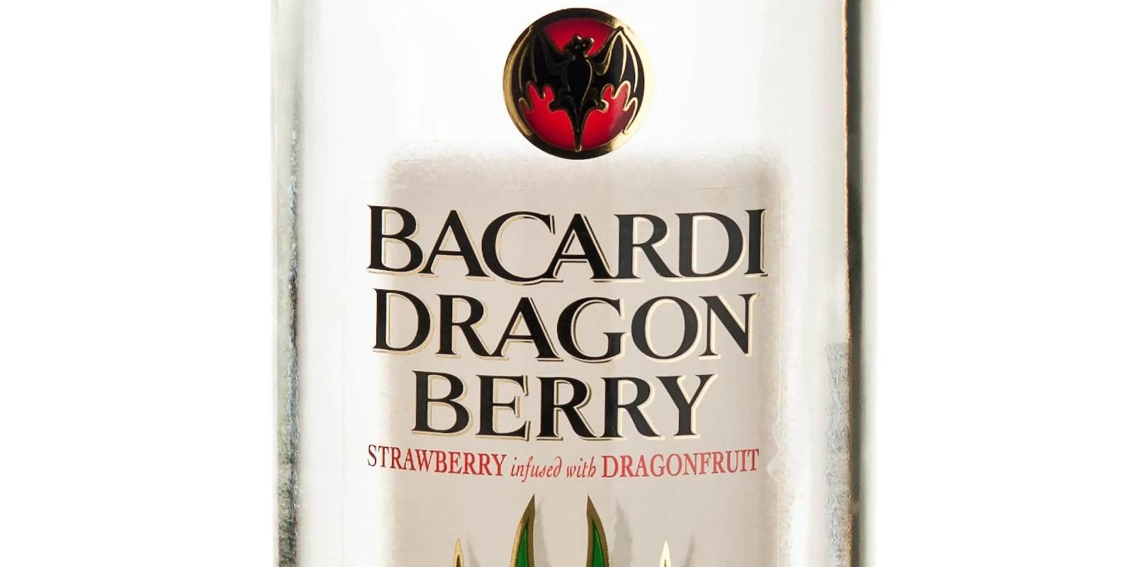 Bacardi Dragon Berry Martini