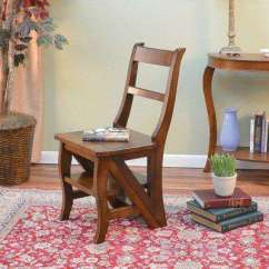 Library Chair Ladder Cheap Chairs For Bedroom Wood Fra
