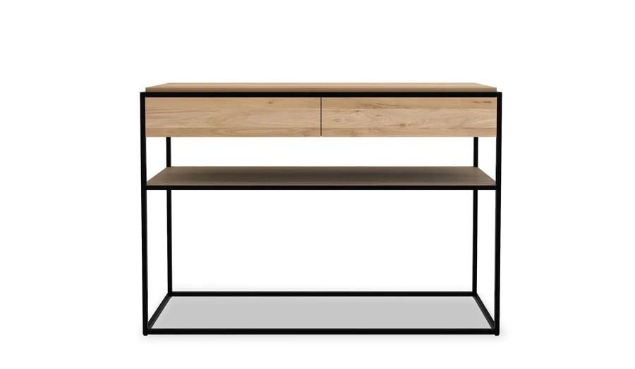 sofa tables perth wa pillow inserts designer console find your perfect design oopenspace ethnicraft oak monolit