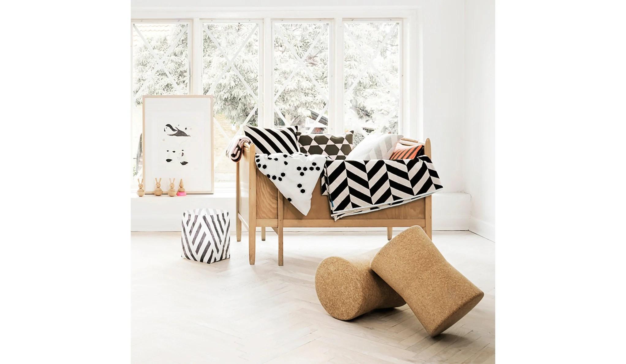 queen sofa beds perth cheap mini oyoy mumi plaid (white/choko brown/ice blue) - oopenspace