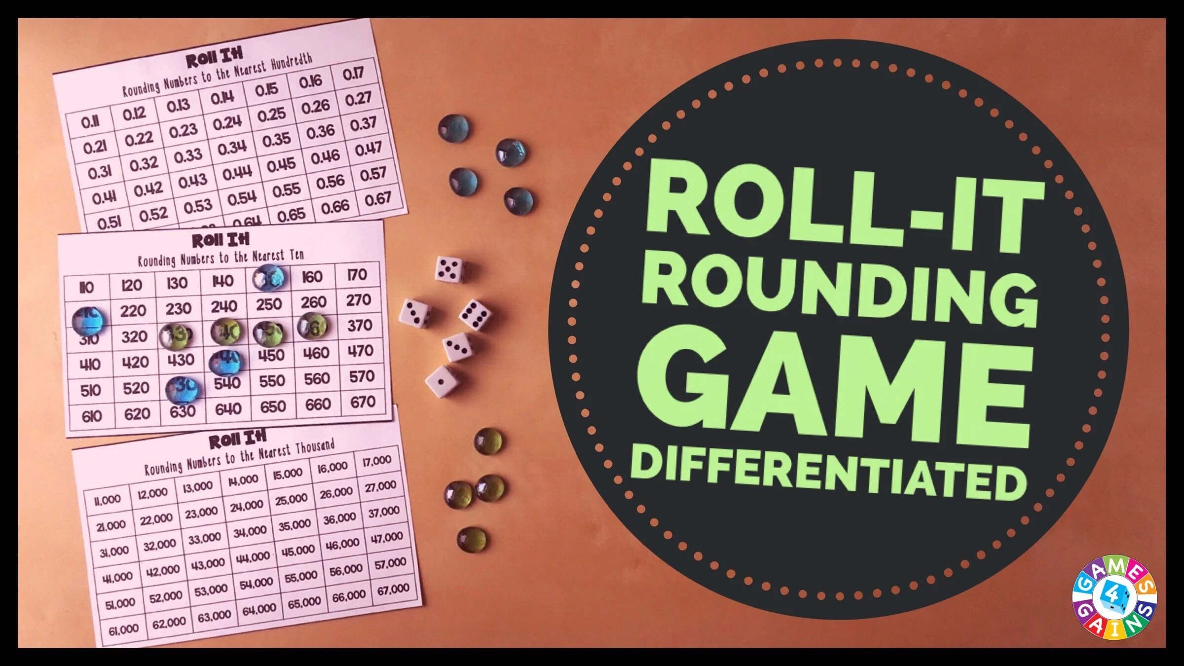Roll It! Rounding Game – Games 4 Gains [ 1350 x 2400 Pixel ]