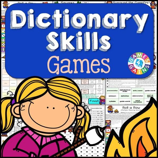 Dictionary Skills Games Games 4 Gains