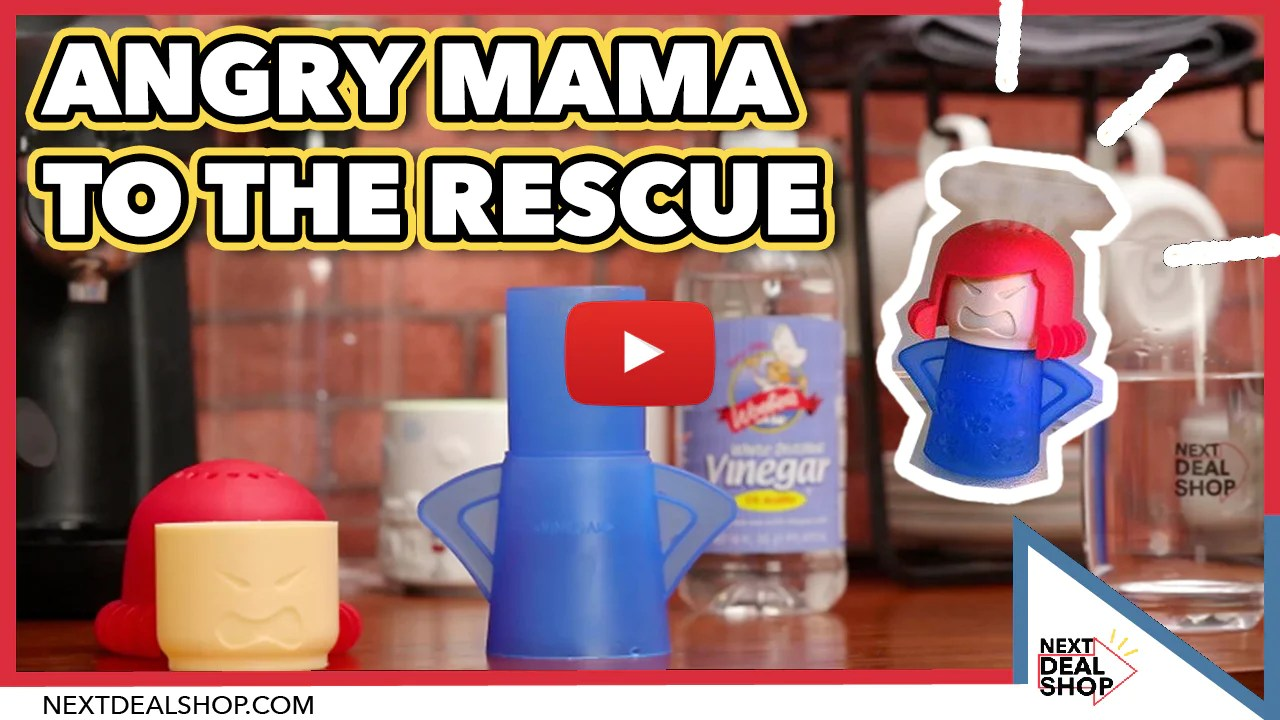 angry mom microwave cleaner makes you