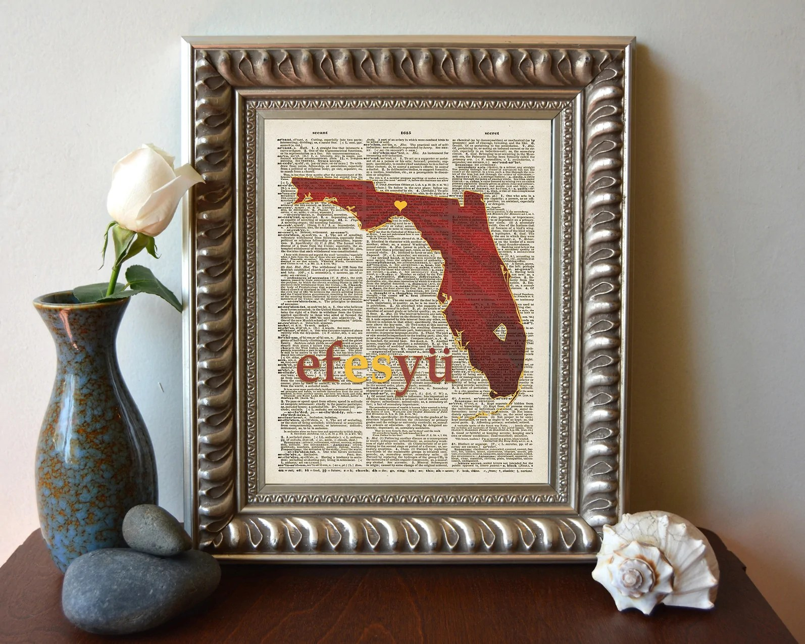 Florida State Seminole Fsu Phonics Phonetic Art Print