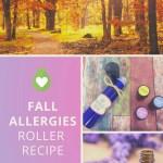 Essential Oils For Fall Allergies Diy Seasonal Roller Bottle Recipe