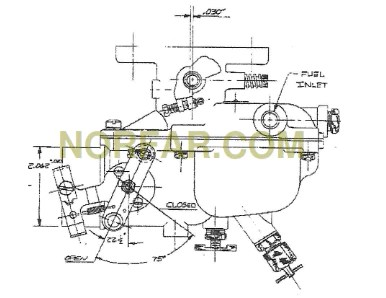 Zenith 14981 Carburetor  NORFARCOM