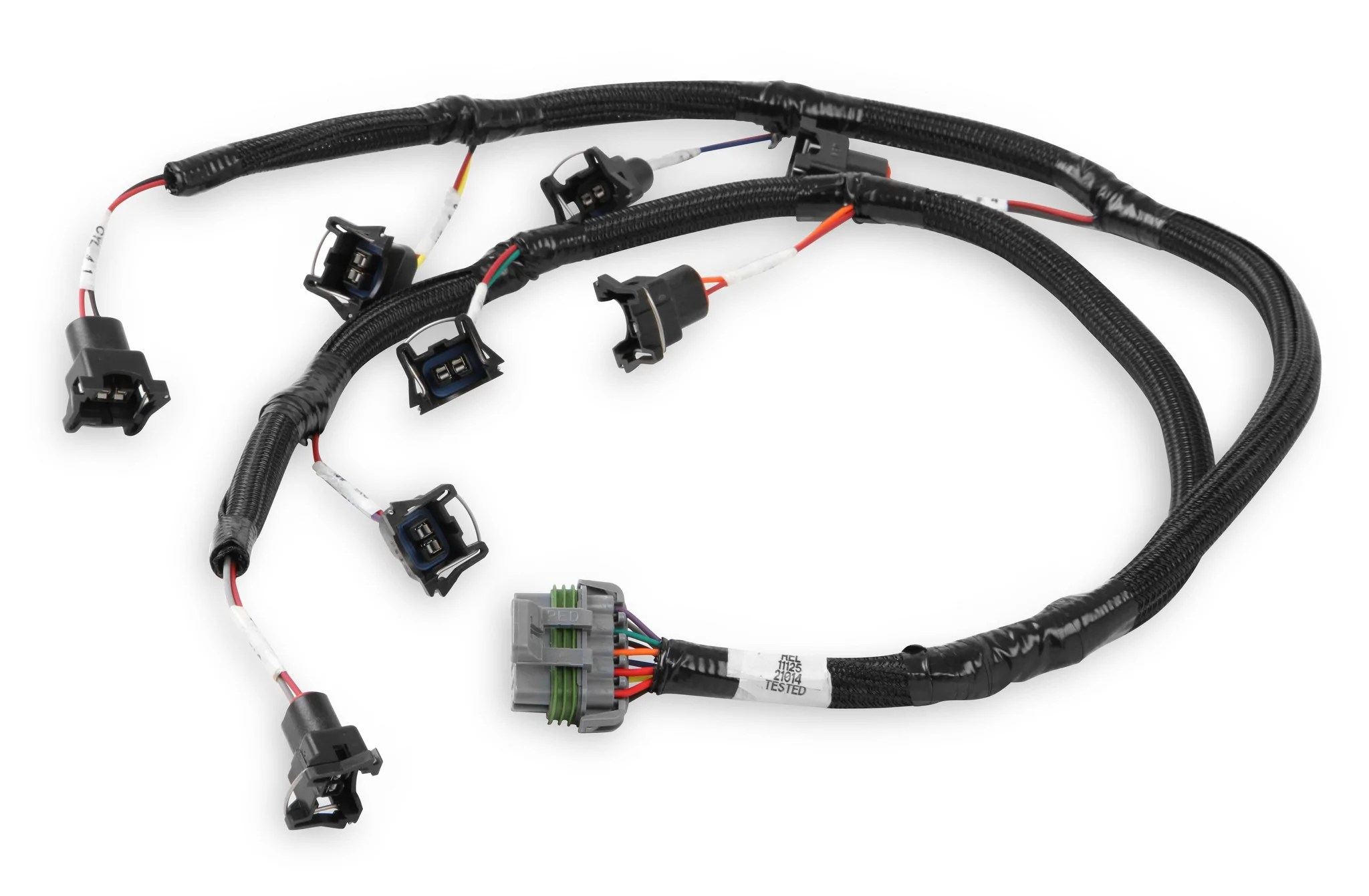 hight resolution of ford injector harness mod coyote jetronic connectors
