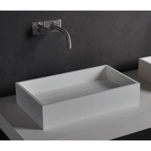 solidpure 20 in rectangular vessel sink bowl above counter sink lavatory for vanity cabinet