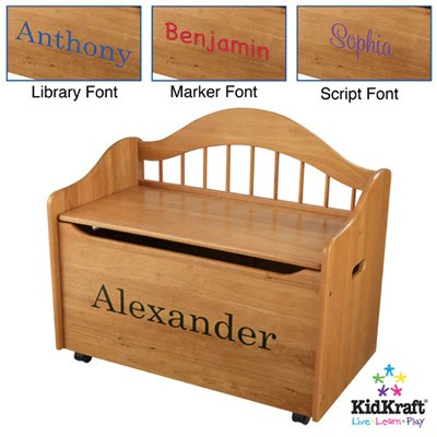 Kidkraft Limited Edition Toy Box Honey 14141
