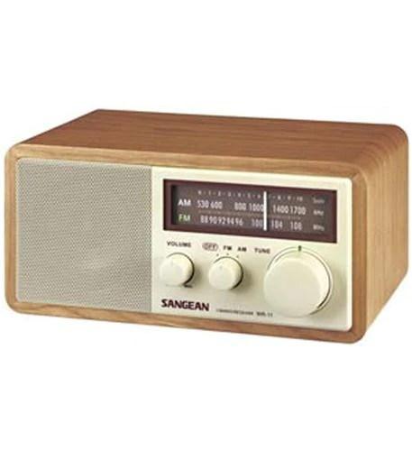 Sangean Sangean San Wr11 Wood Table Top Radio From Peazz