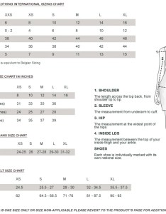 Versace size chart guide jezzelle also ibovnathandedecker rh
