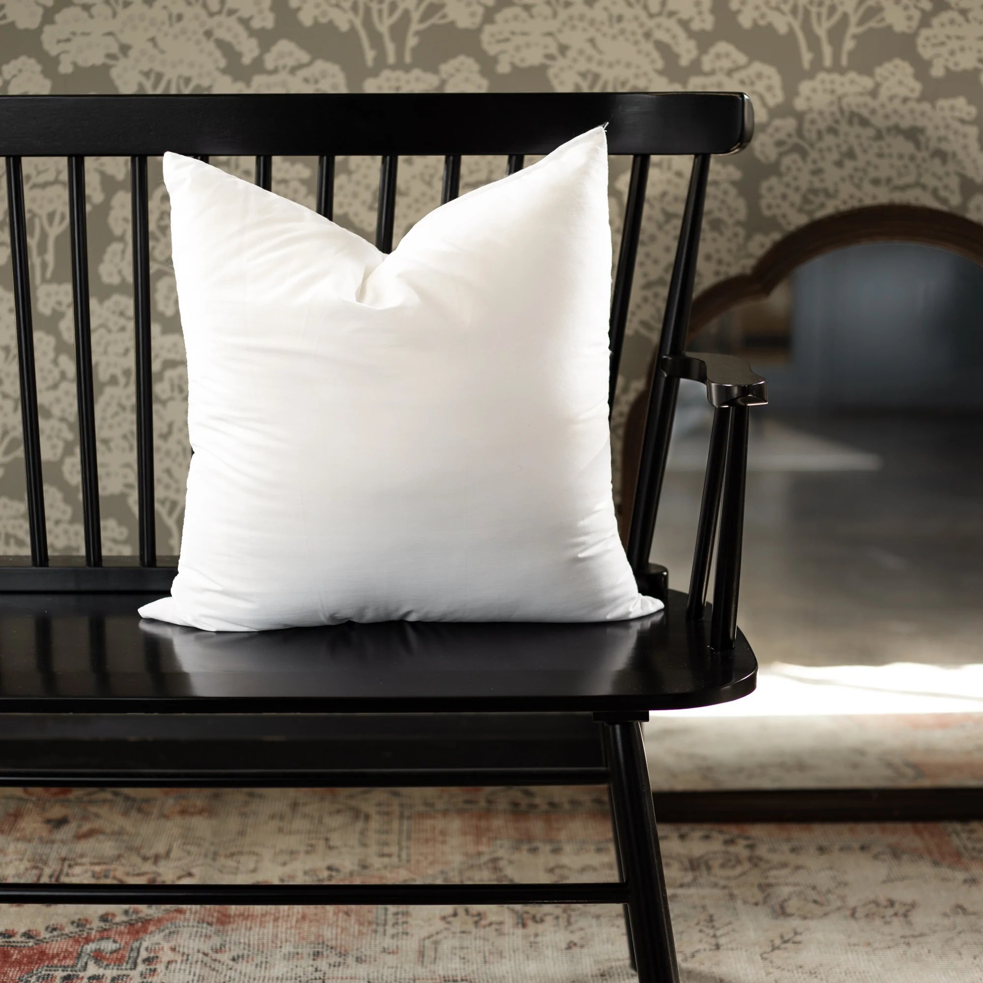 faux down pillow inserts