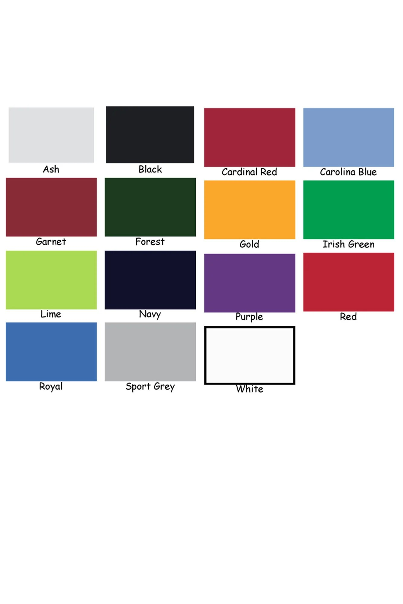 Gildan shirt color chart also bcd tofu house rh bcdtofu