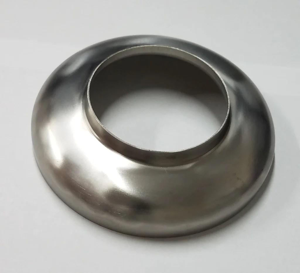 medium resolution of 2 5 titanium muffler end cap
