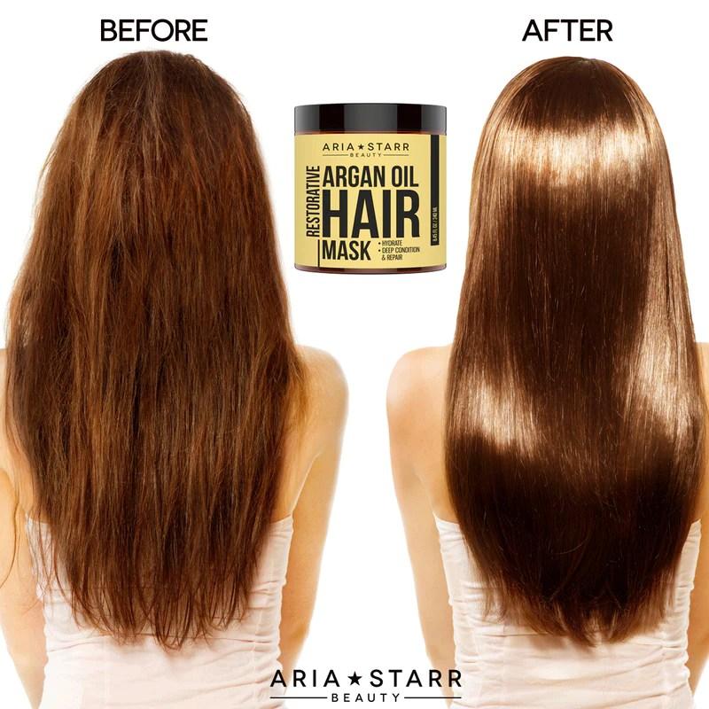 argan oil hair mask aria