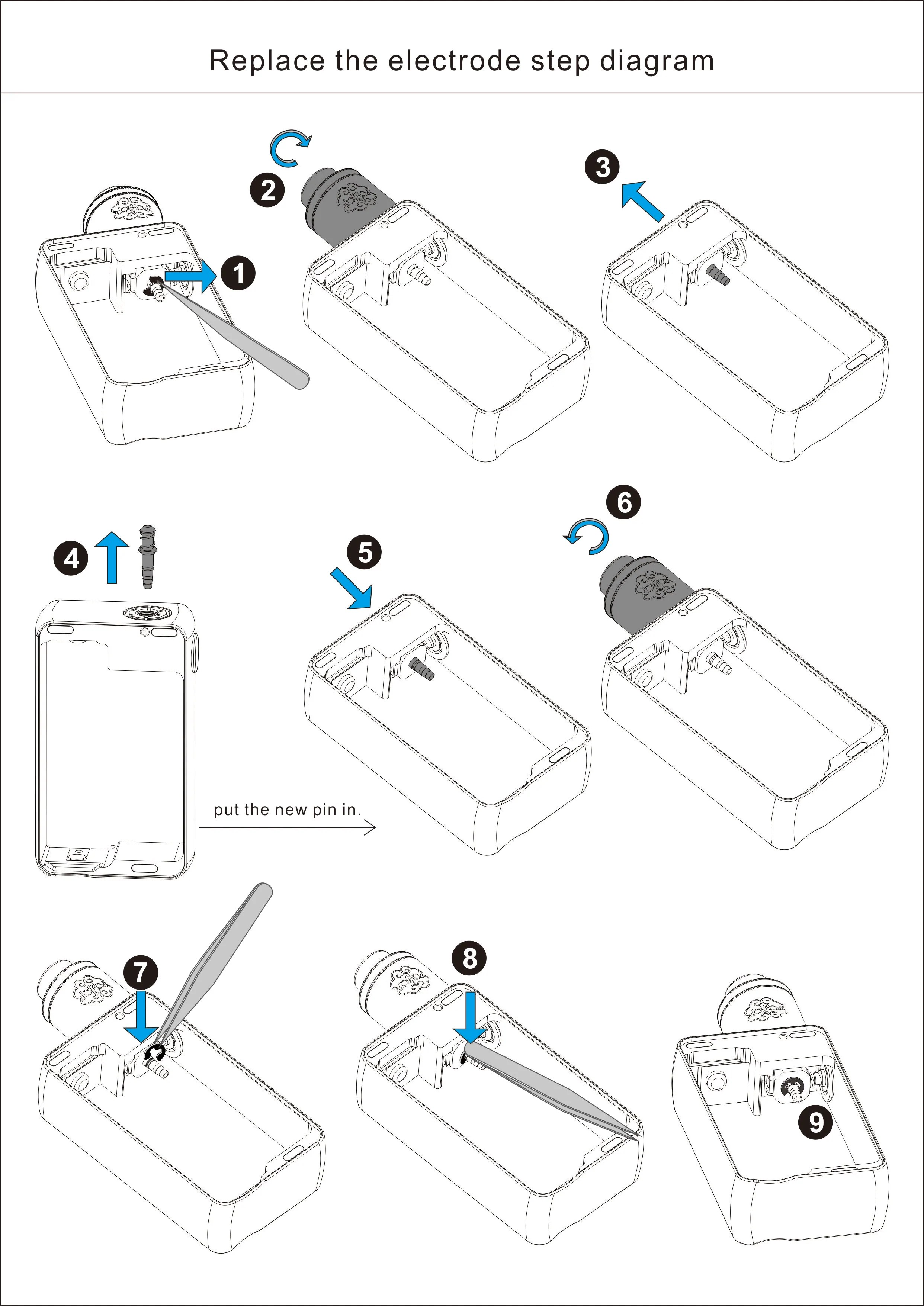 small resolution of 9 check to ensure c clamp is properly secure