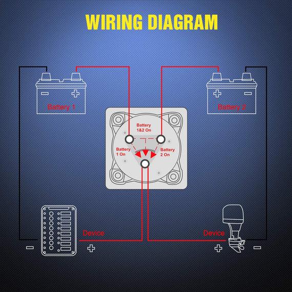 nilight 12bothoff battery switch 12v48v battery