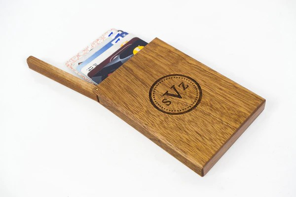 Card Business Desk Personalized Holder