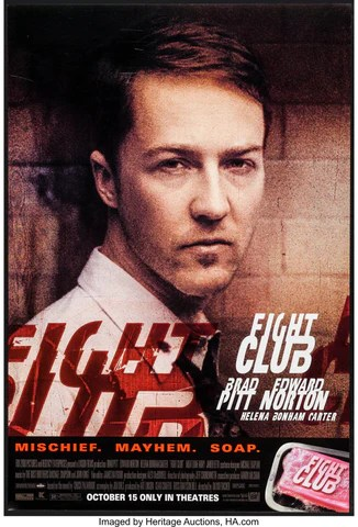 Nonton Fight Club : nonton, fight, Fight, Norton, Hollywood, Classic, English, Movie, Poster, Alice, Posters,, Frames,, Canvas, Digital, Prints, Small,, Compact,, Medium, Large, Variants
