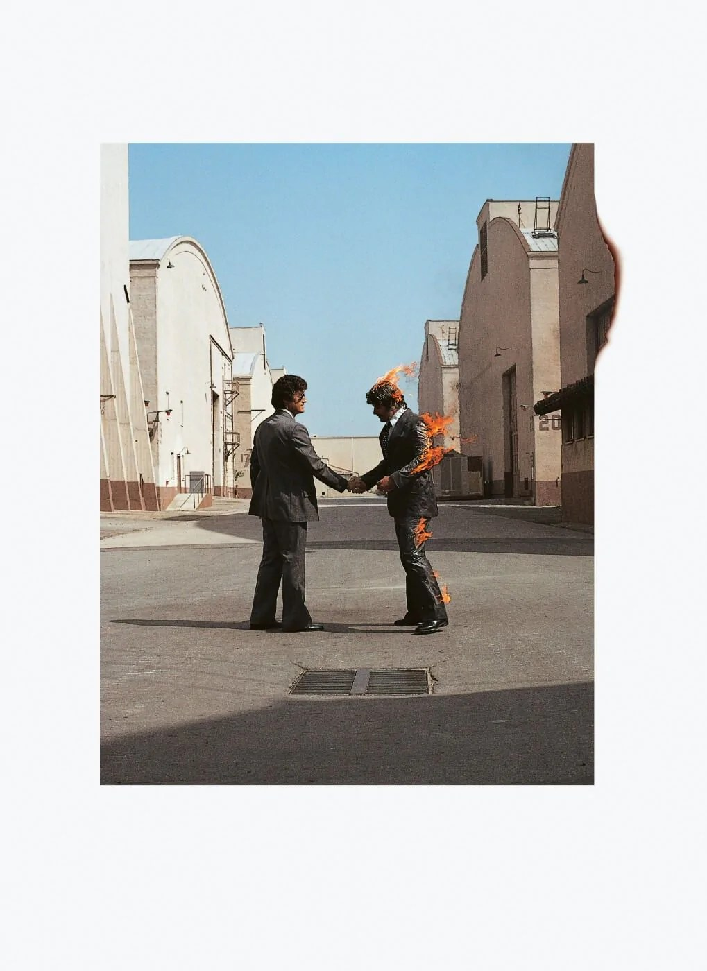Pink Floyd - Wish You Were Here : floyd, Floyd, Album, Cover, Classic, Music, Poster, Collection, Posters, Kenneth, Posters,, Frames,, Canvas, Digital, Prints