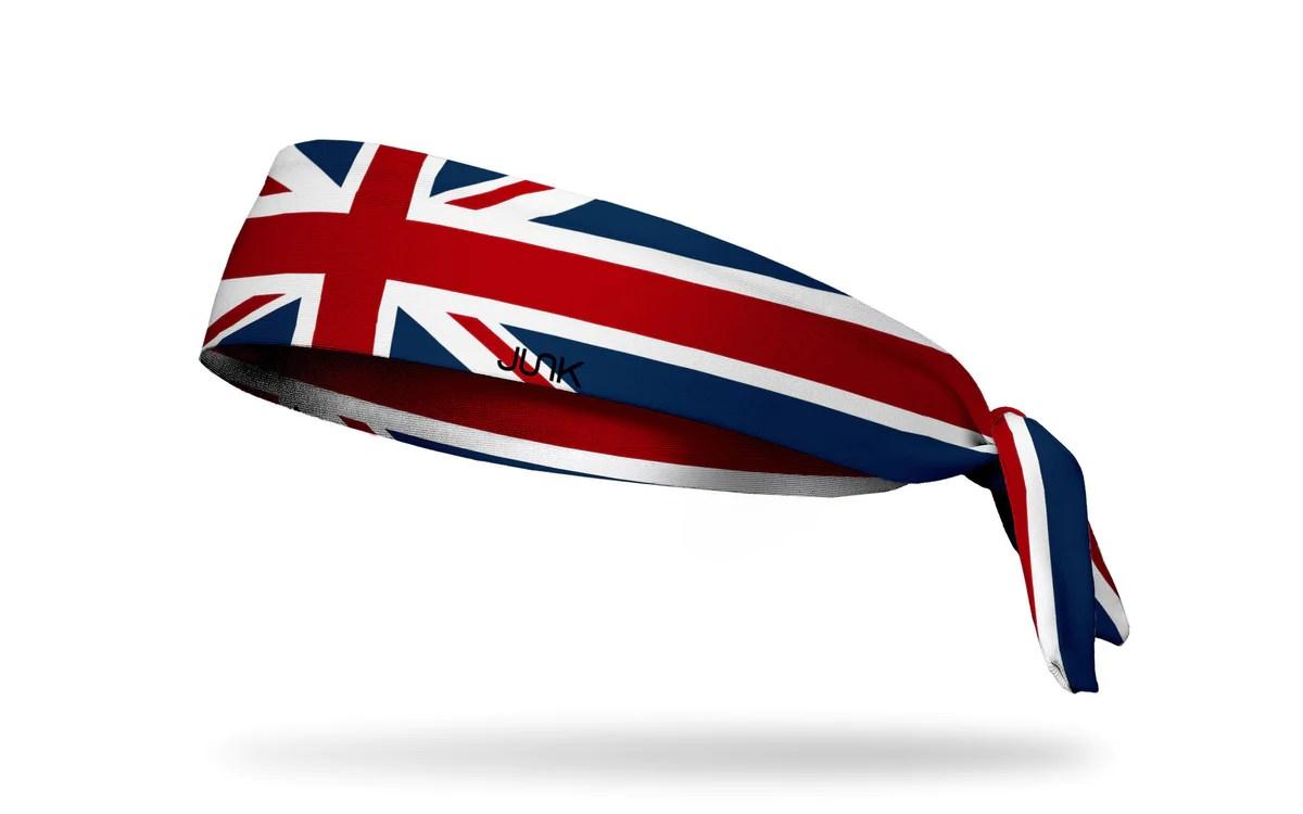 great britain flag headband