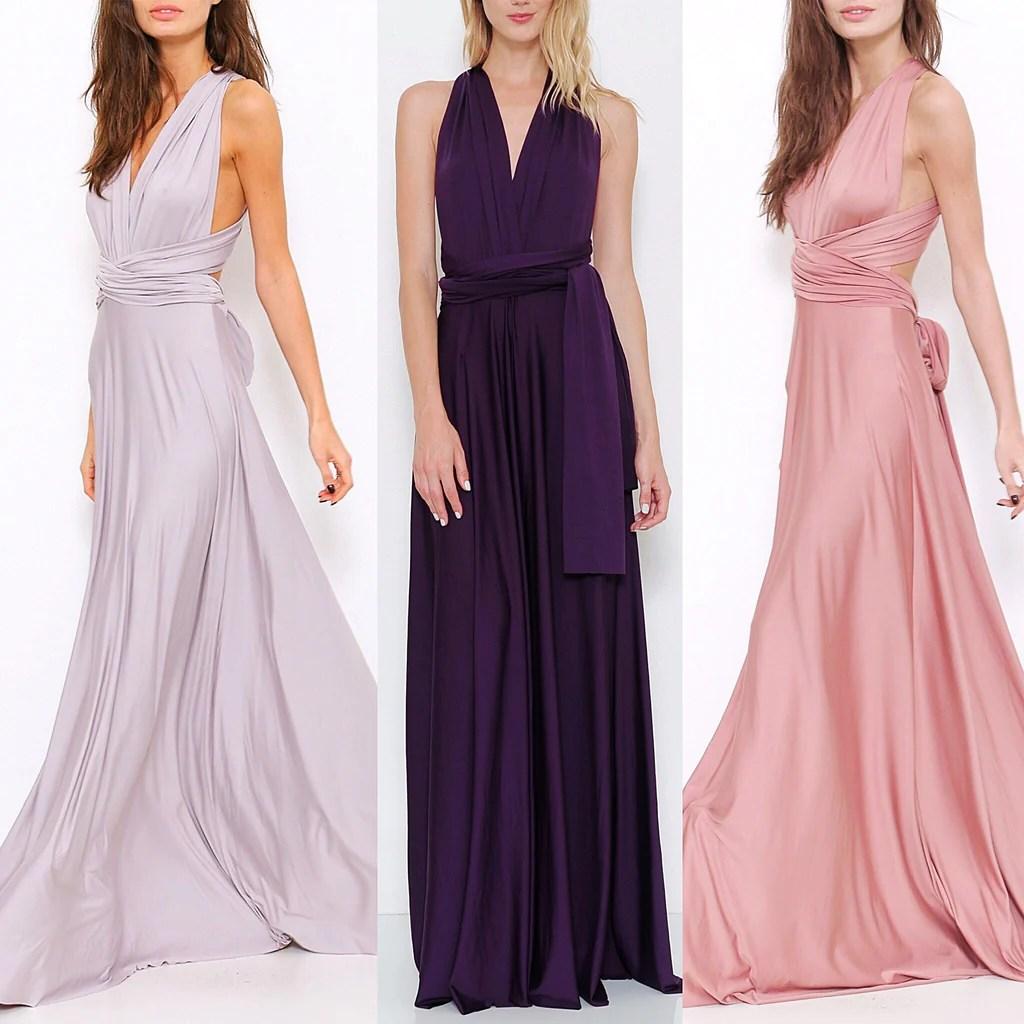 Maxi Convertible Dress Bridesmaids