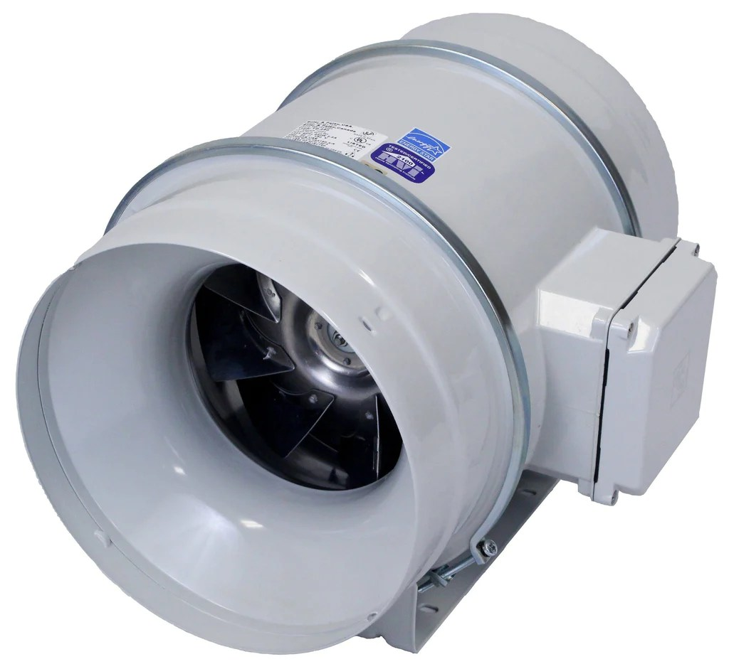 td mixvent multi purpose inline duct fan 10 inch 754 cfm td 250