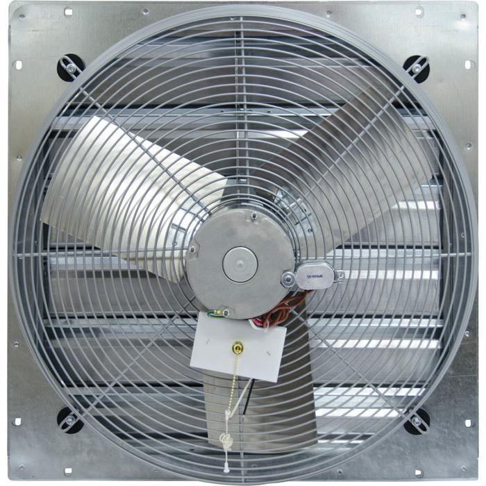 tpi wall exhaust fan w shutters 2 speed 30 inch 3950 cfm ce30 ds