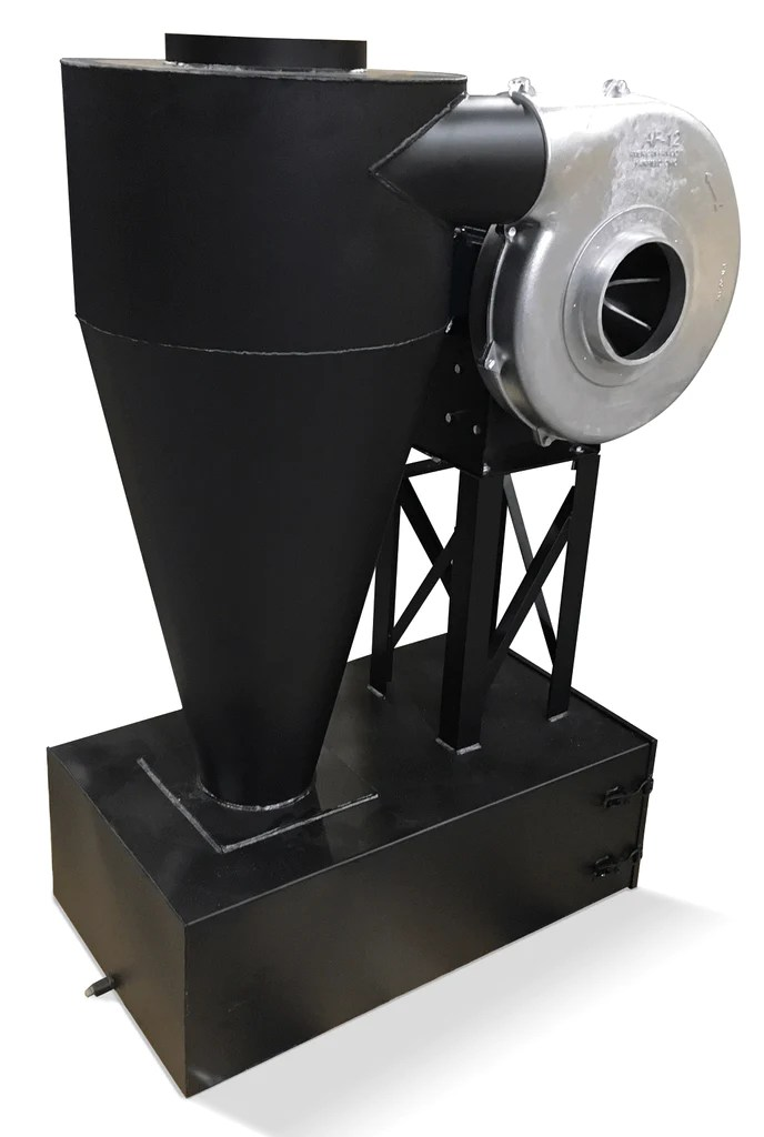 cyclone dust collector 400 cfm at 2 inch sp w dust drawer cc 9 f