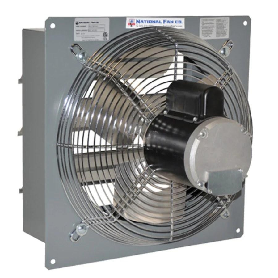 airflo sf exhaust fan w shutters 12 inch 1683 cfm variable speed sf12evd