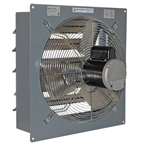 110 Block Wiring Diagram Airflo Sf Exhaust Fan W Shutters 24 Inch 5712 Cfm 1 Speed
