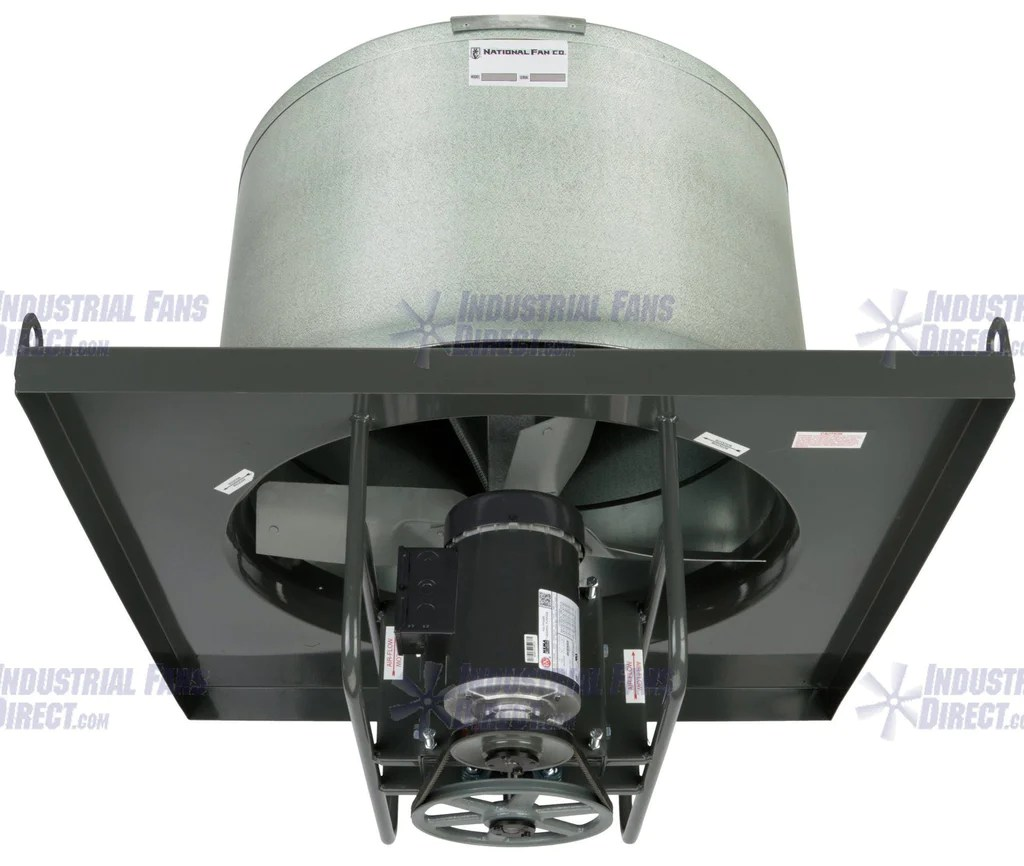 airflo nv8 explosion proof upblast roof exhaust fan 60 inch 44600 cfm belt drive 3 phase nv860 i 3 e