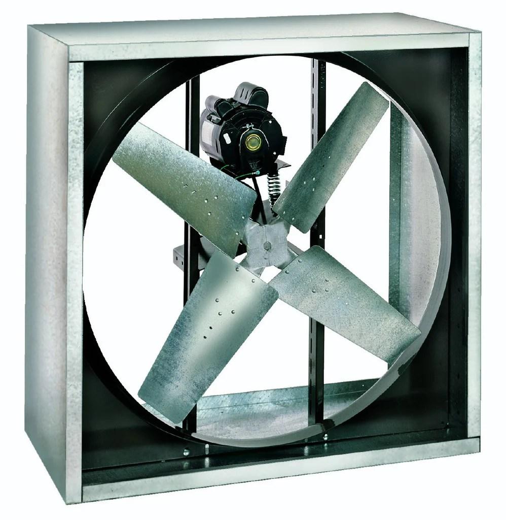 vi cabinet exhaust fan 24 inch 4190 cfm 230 460 volt belt drive 3 phase vi2412 x