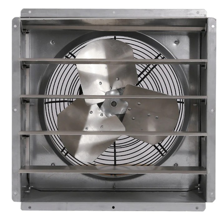 gpx wall exhaust fan 1 speed 12 inch 1580 cfm direct drive gpx1210