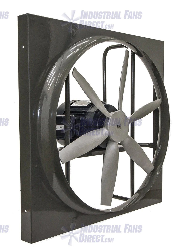 airflo panel explosion proof exhaust fan 18 inch 4150 cfm n918 c 1 e