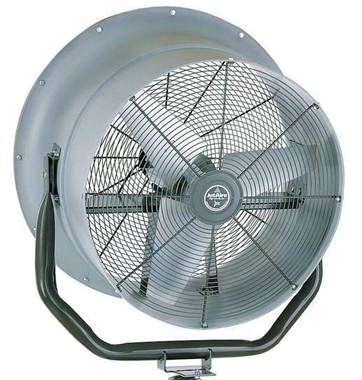 wall mounted warehouses exhaust fans