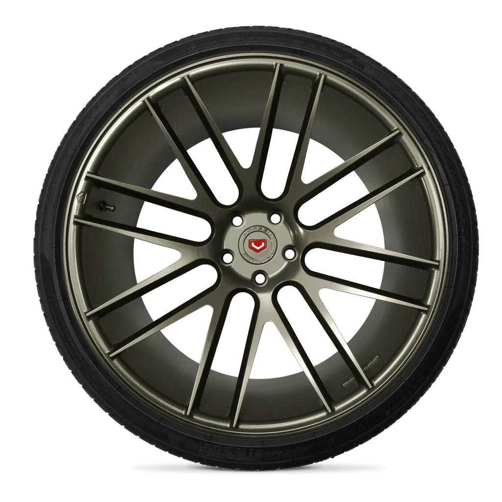 raw titanium wheel kit