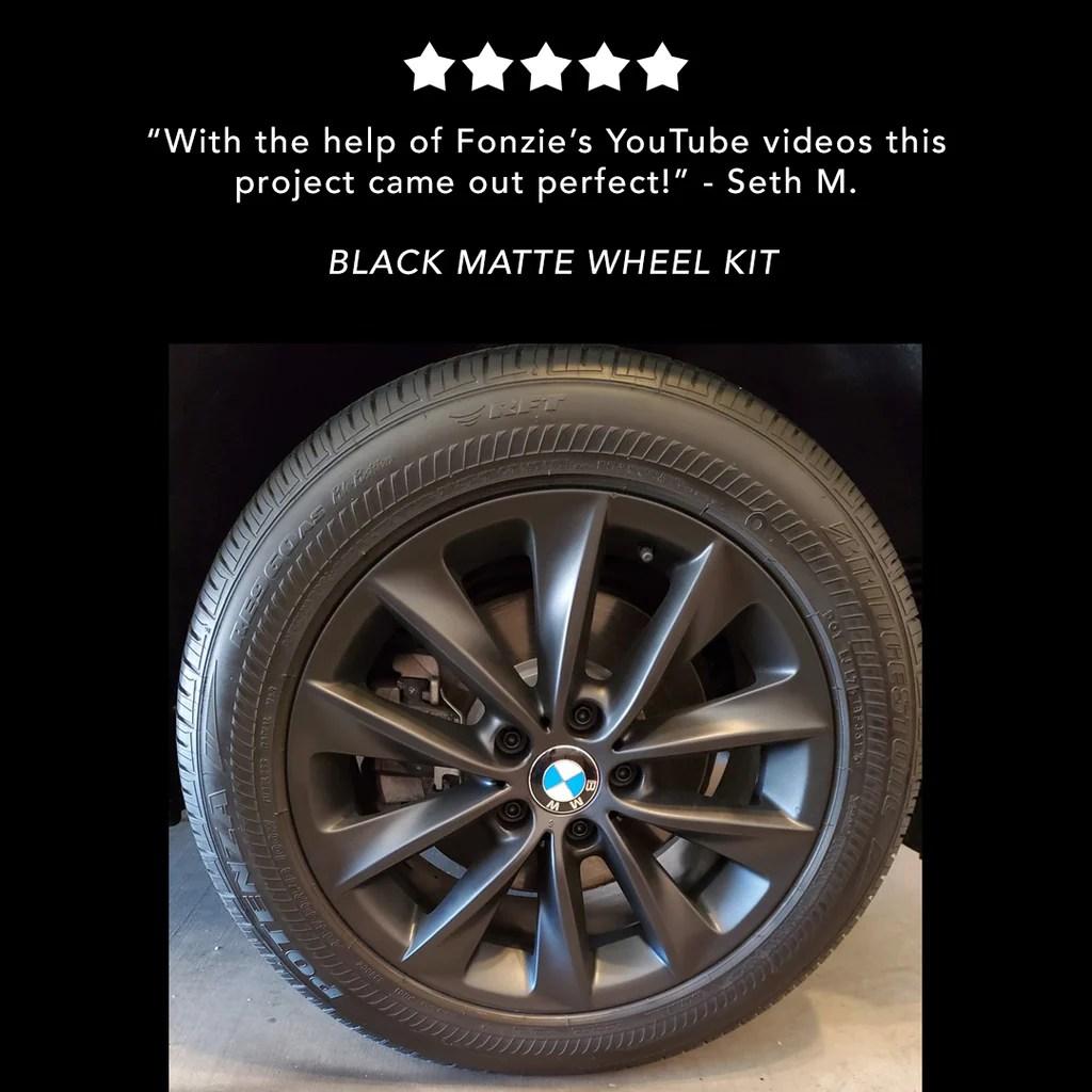 black wheel kit plasti