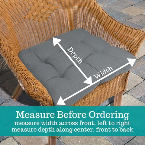 fulton ogee grey indoor ourdoor dining chair pads patio cushions